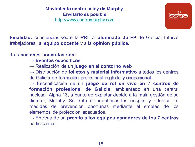 Movimiento contra la ley de Murphy. Envitarlo es posible
