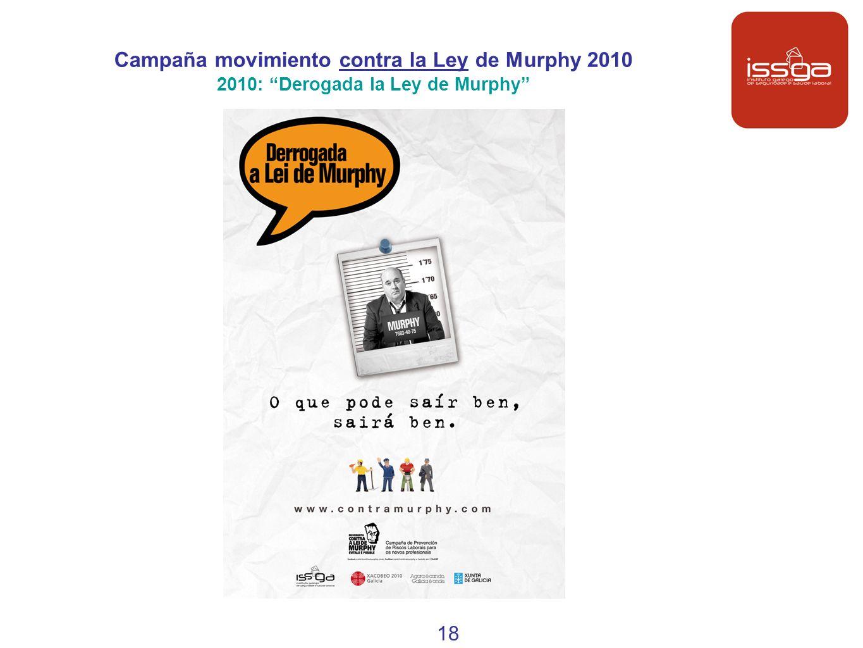 Campaña movimiento contra la Ley de Murphy 2010