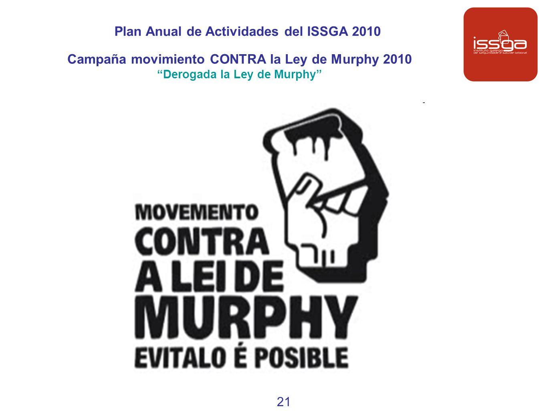 Plan Anual de Actividades del ISSGA 2010
