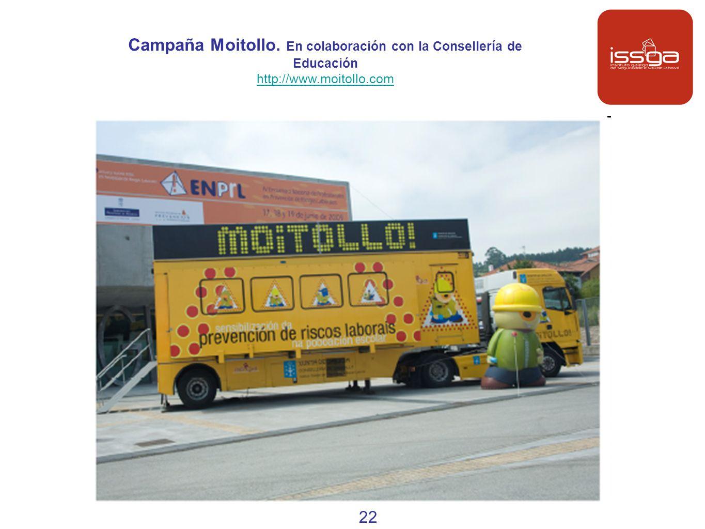 Campaña Moitollo. En colaboración con la Consellería de Educación