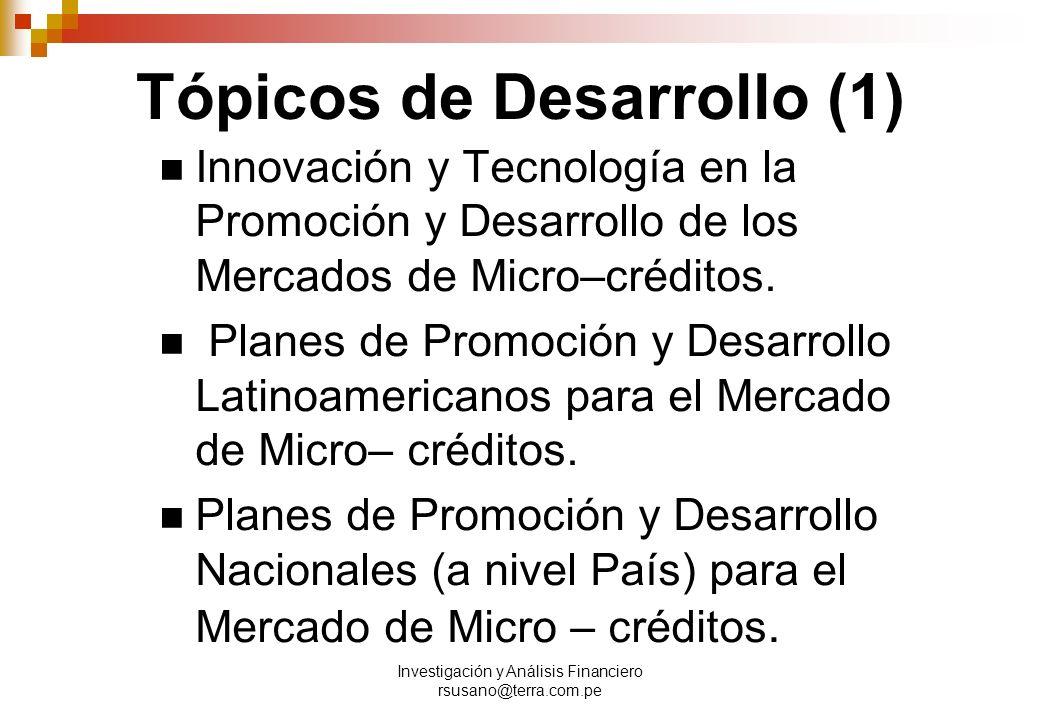 Tópicos de Desarrollo (1)