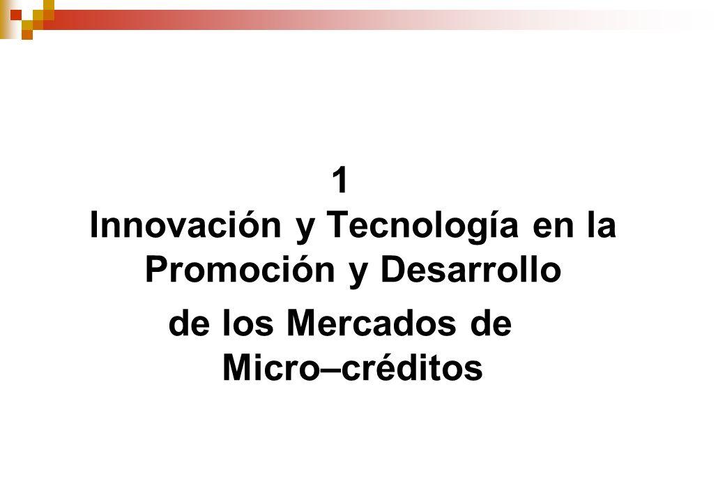 1 Innovación y Tecnología en la Promoción y Desarrollo