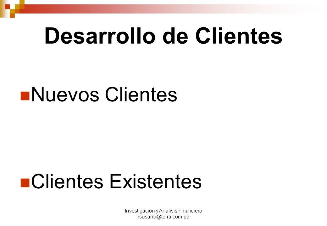 Desarrollo de Clientes