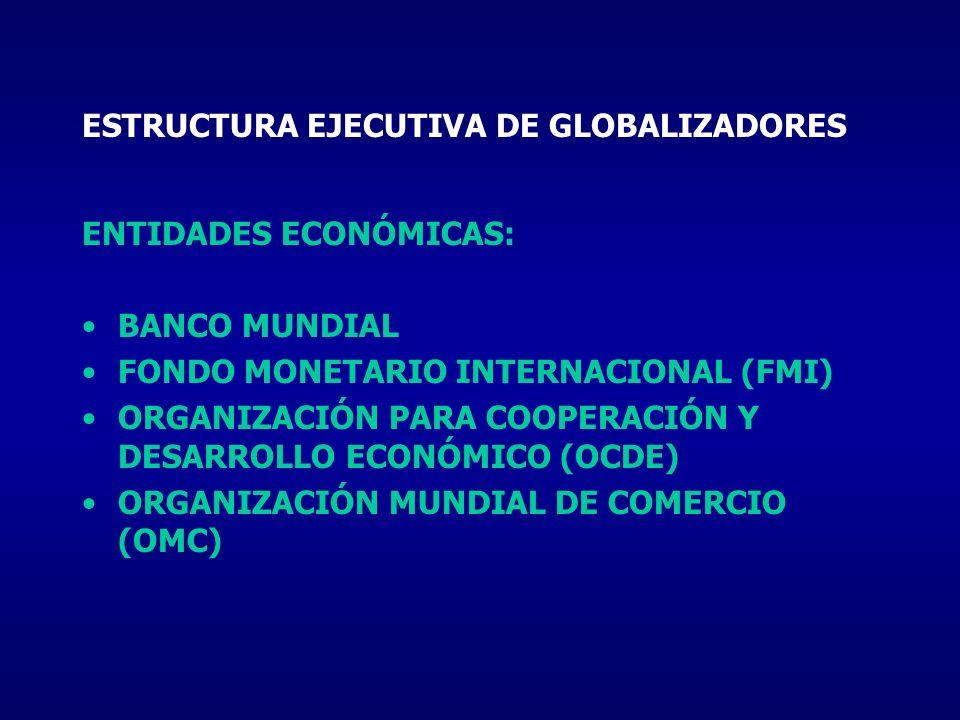 ESTRUCTURA EJECUTIVA DE GLOBALIZADORES