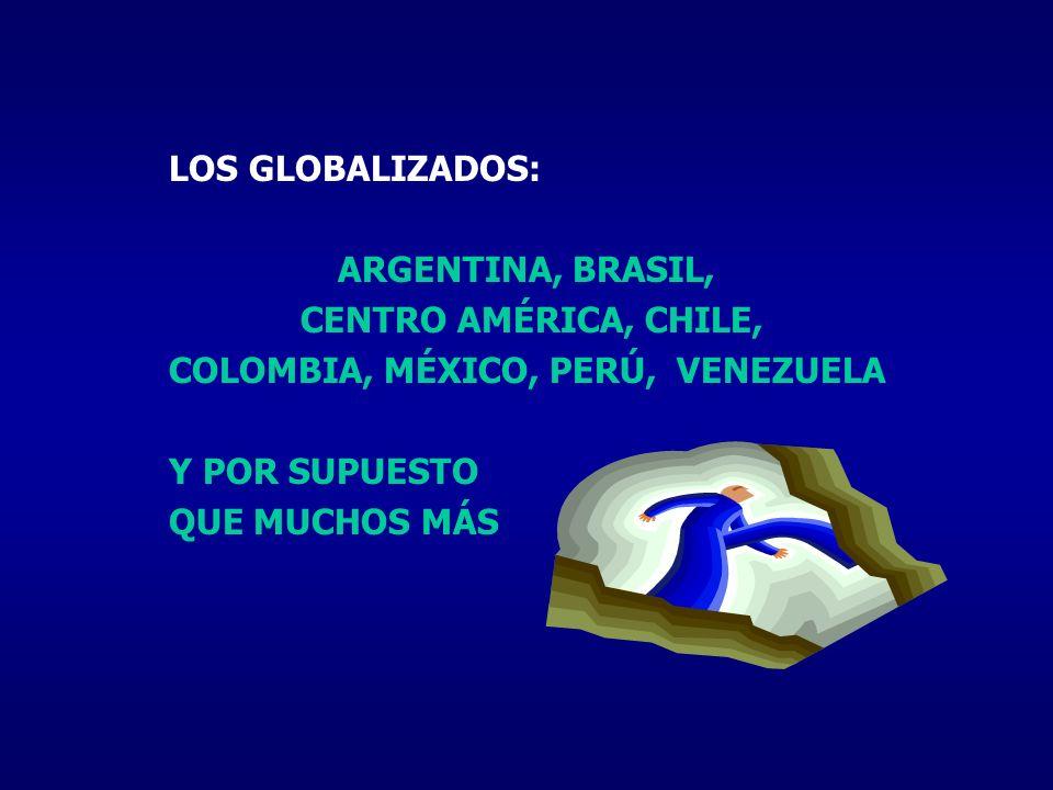 COLOMBIA, MÉXICO, PERÚ, VENEZUELA