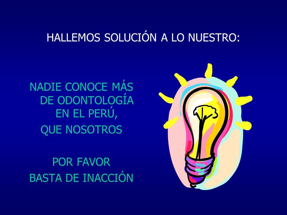 HALLEMOS SOLUCIÓN A LO NUESTRO: