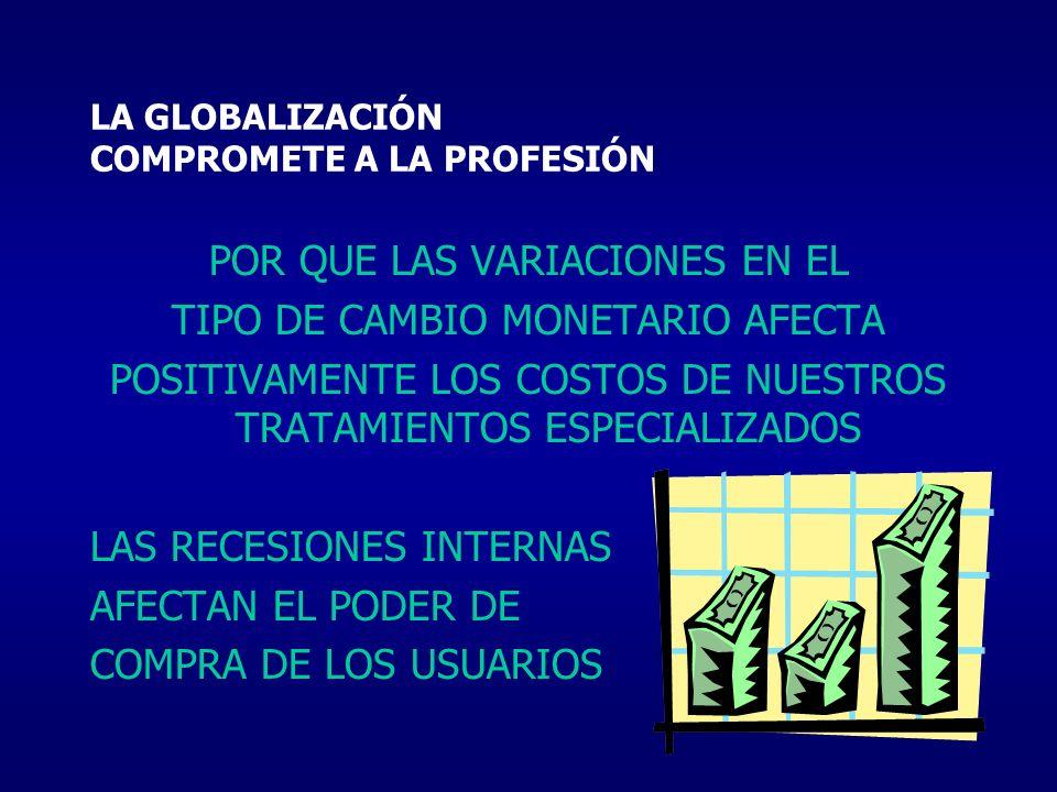 LA GLOBALIZACIÓN COMPROMETE A LA PROFESIÓN