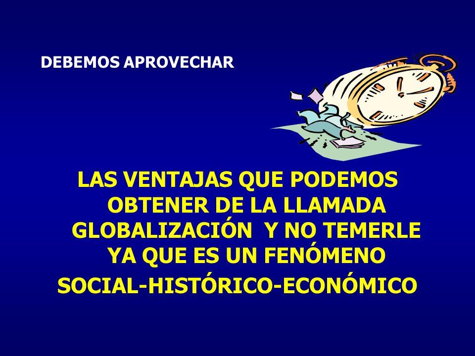SOCIAL-HISTÓRICO-ECONÓMICO