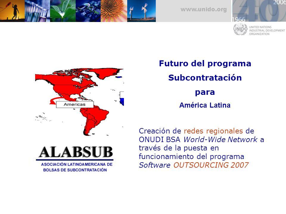 Futuro del programa Subcontratación para