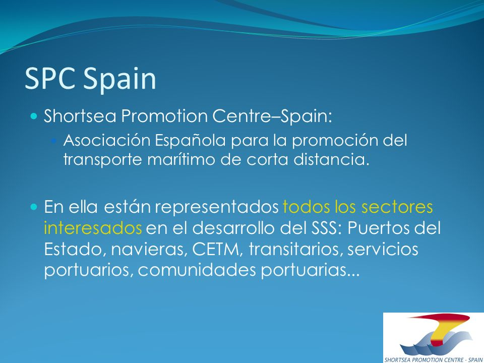 SPC Spain Shortsea Promotion Centre–Spain: