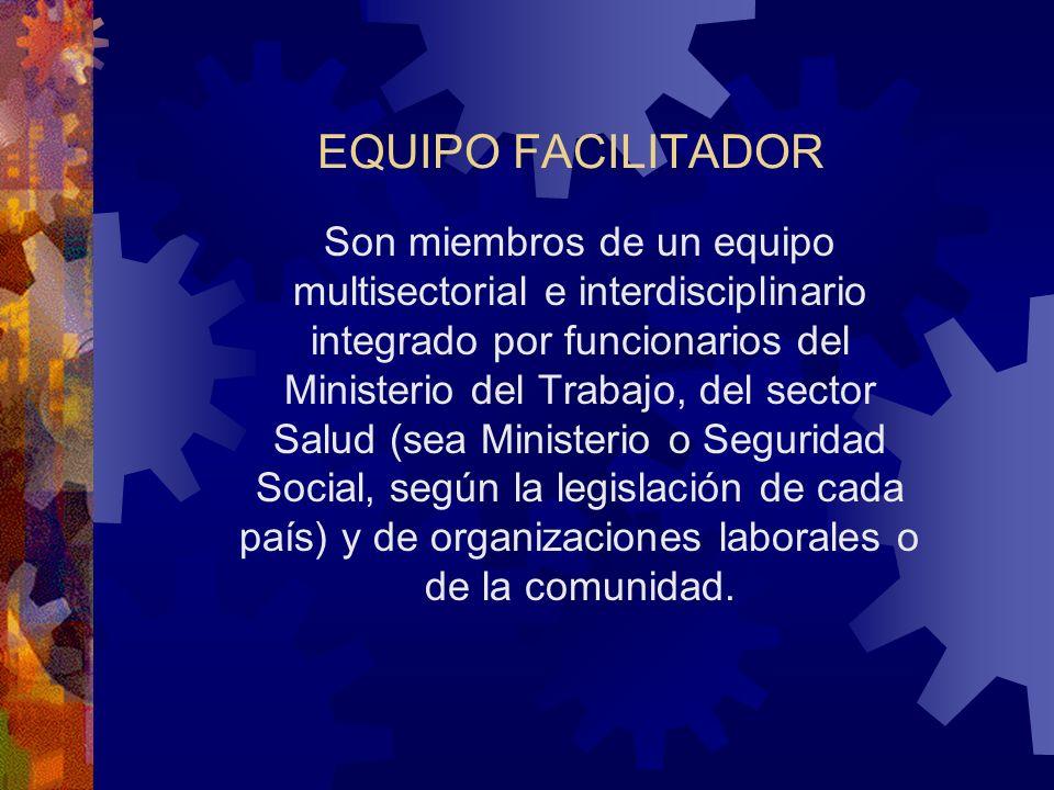 EQUIPO FACILITADOR