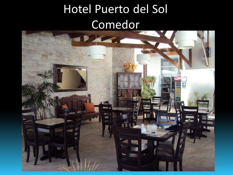 Hotel Puerto del Sol Comedor