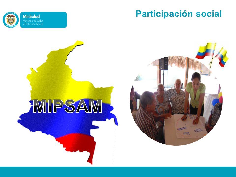Participación social MIPSAM
