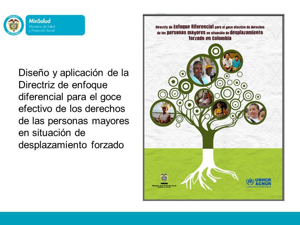Diseño y aplicación de la Directriz de enfoque diferencial para el goce