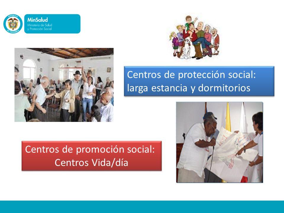 Centros de promoción social: