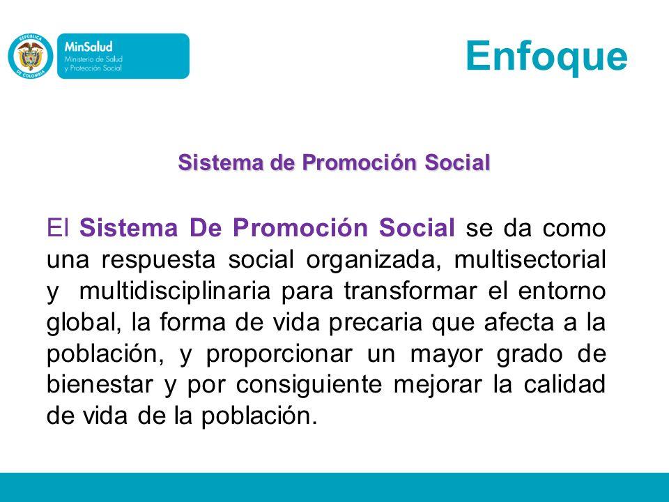 Sistema de Promoción Social