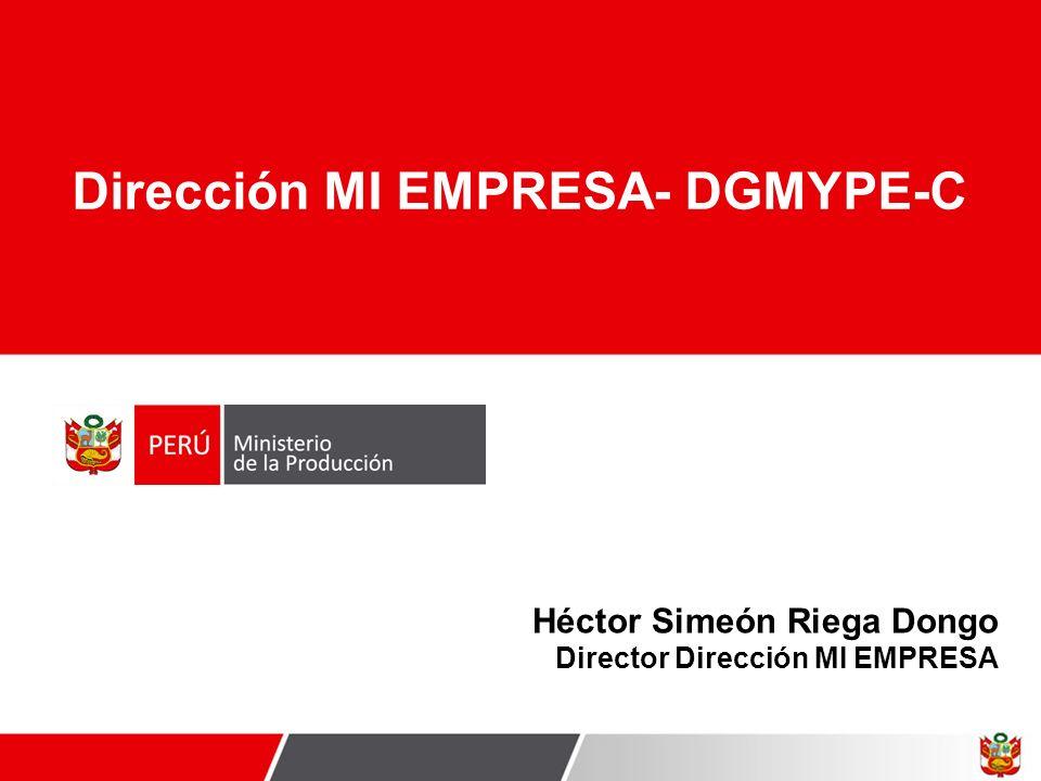 Dirección MI EMPRESA- DGMYPE-C