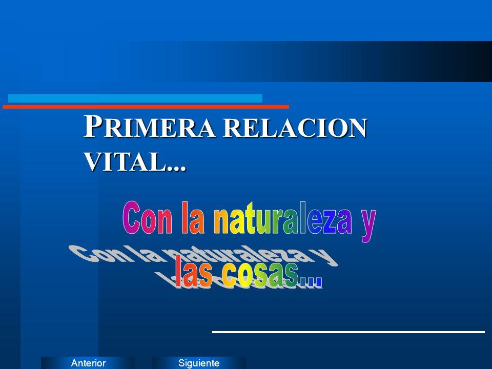 PRIMERA RELACION VITAL...