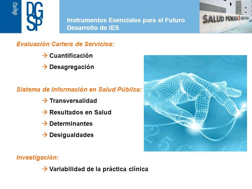 Instrumentos Esenciales para el Futuro Desarrollo de IES