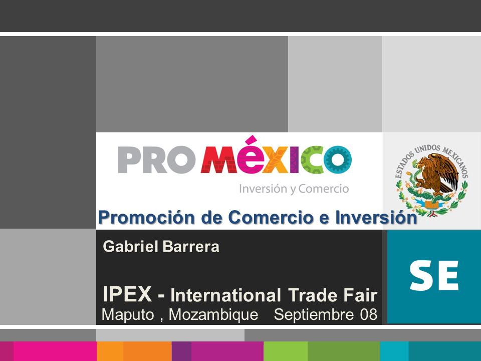 Gabriel Barrera IPEX - International Trade Fair