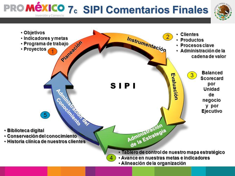 7c SIPI Comentarios Finales