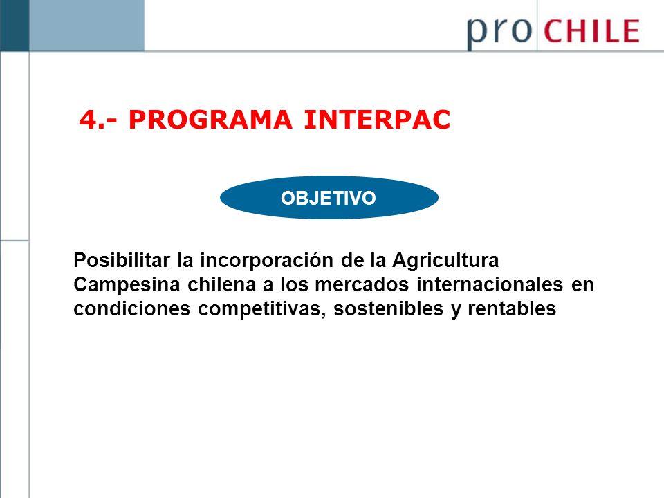 4.- PROGRAMA INTERPAC OBJETIVO.