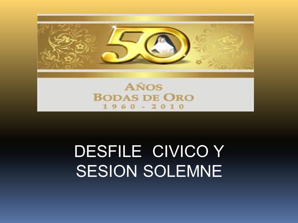 DESFILE CIVICO Y SESION SOLEMNE