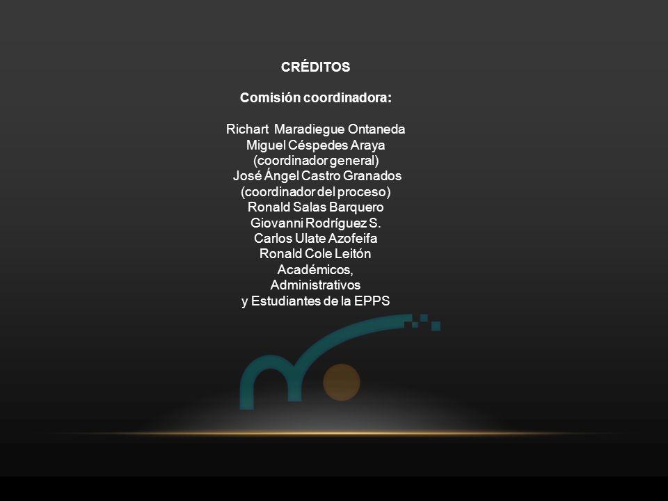 Comisión coordinadora:
