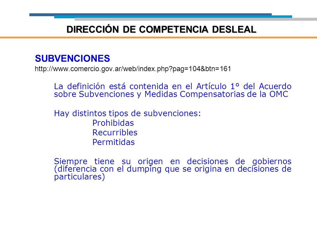 DIRECCIÓN DE COMPETENCIA DESLEAL