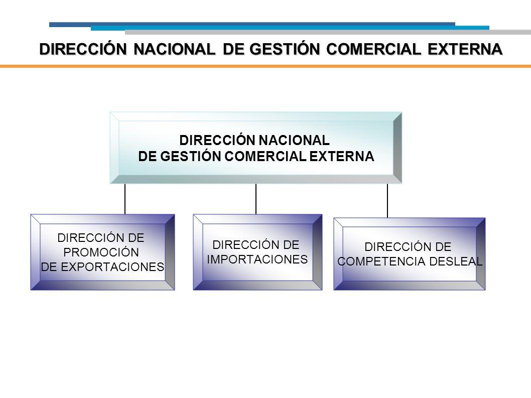 DIRECCIÓN NACIONAL DE GESTIÓN COMERCIAL EXTERNA
