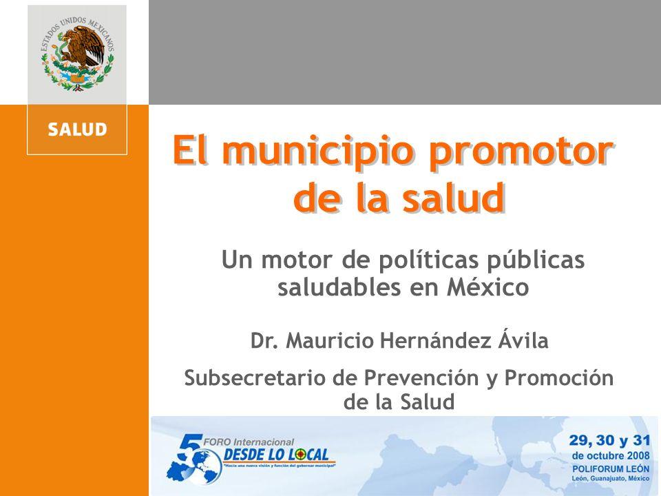 El municipio promotor de la salud