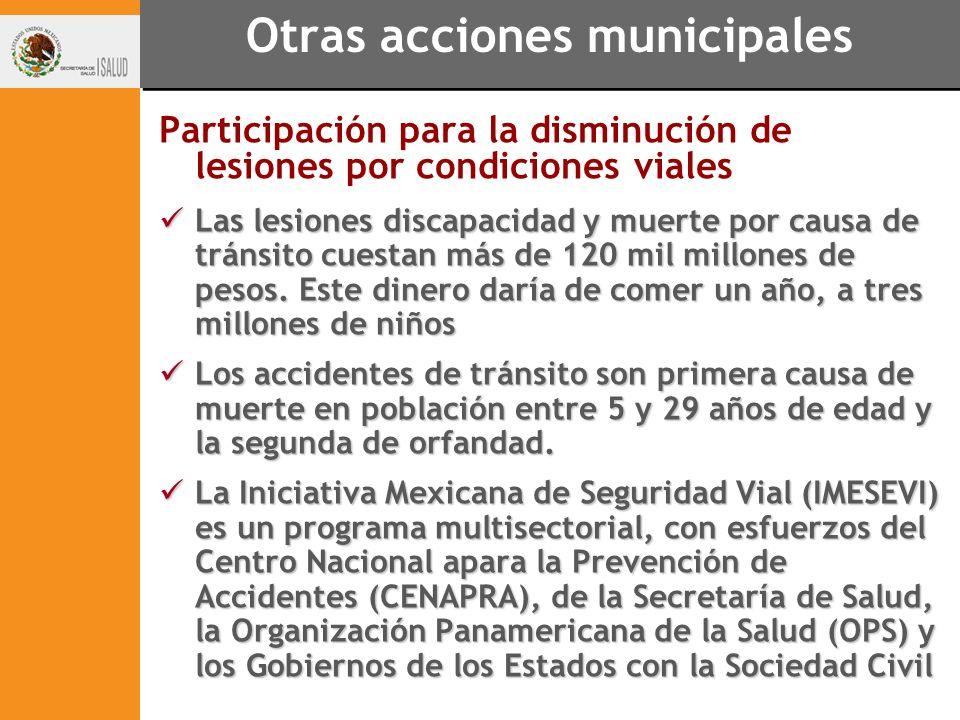 Otras acciones municipales