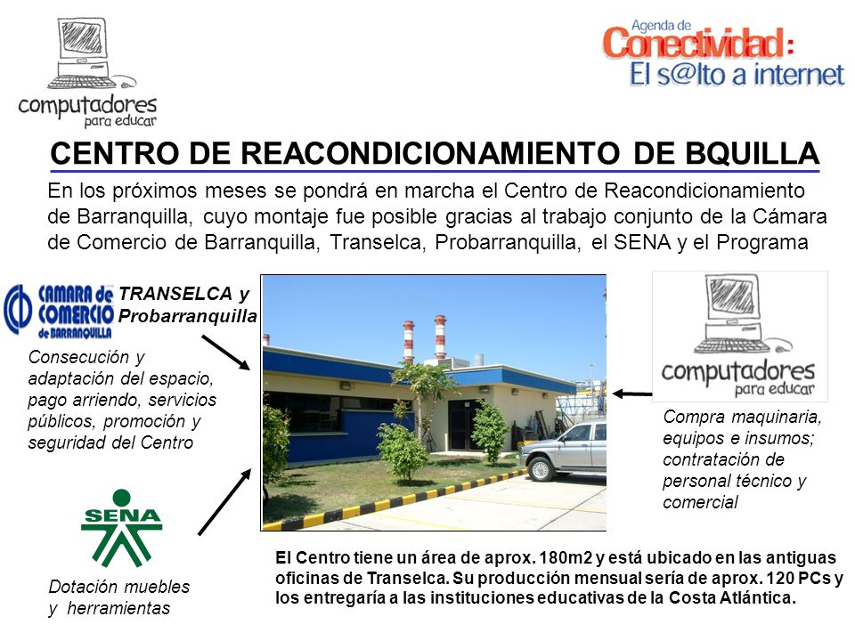 CENTRO DE REACONDICIONAMIENTO DE BQUILLA