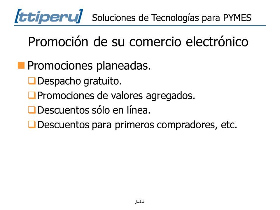 Promoción de su comercio electrónico