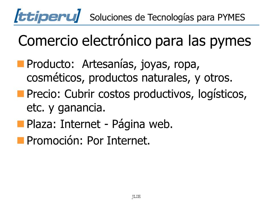 Comercio electrónico para las pymes