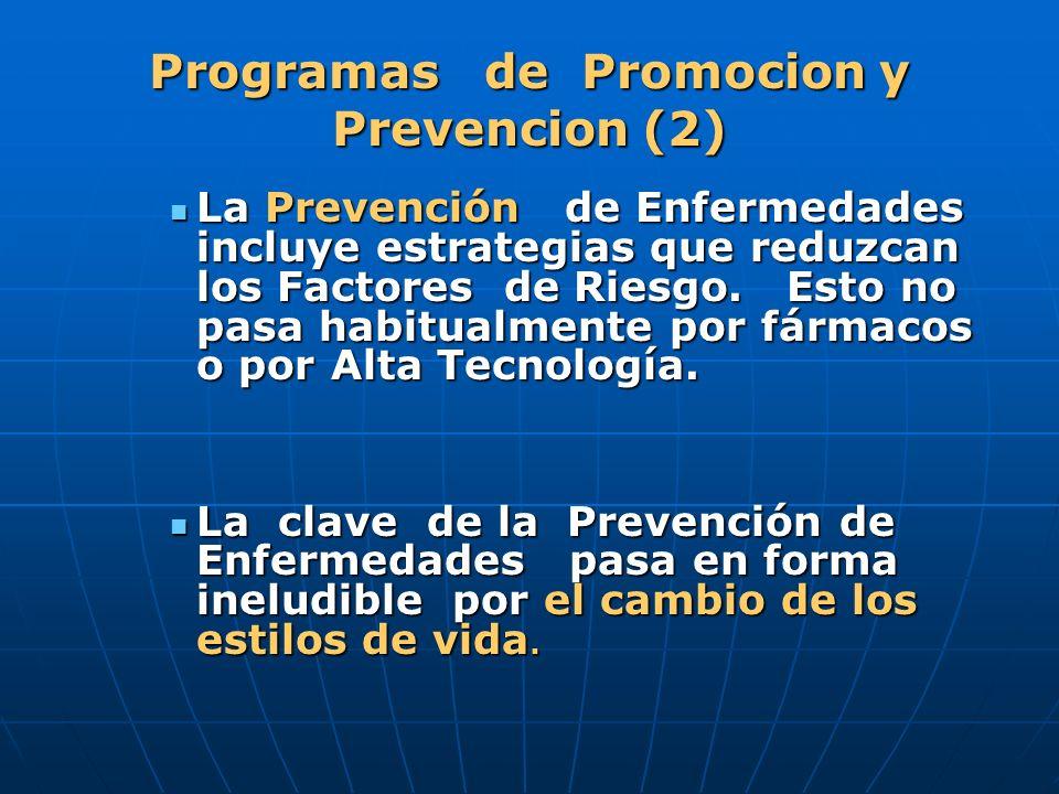 Programas de Promocion y Prevencion (2)