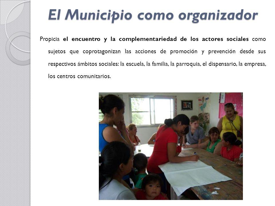 El Municipio como organizador