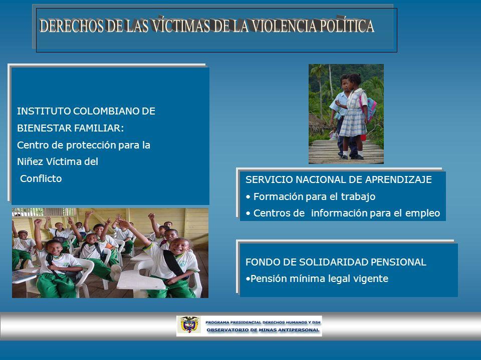 DERECHOS DE LAS VÍCTIMAS DE LA VIOLENCIA POLÍTICA