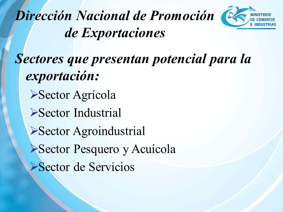 Dirección Nacional de Promoción de Exportaciones
