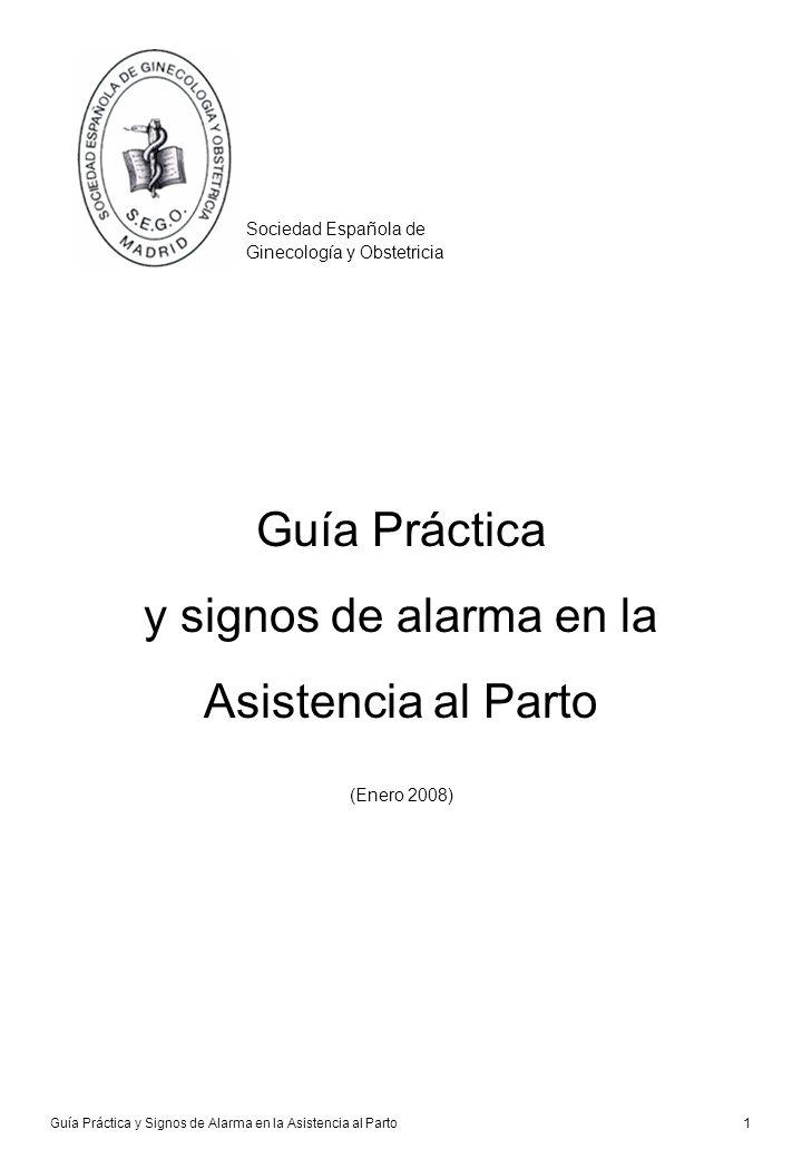 Guía Práctica y signos de alarma en la Asistencia al Parto