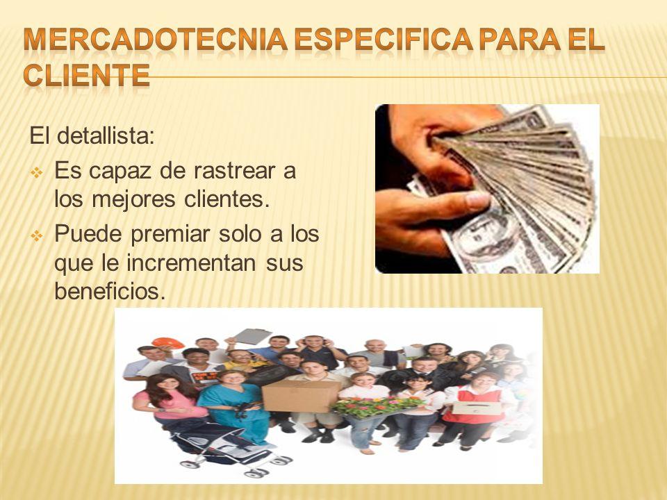 MERCADOTECNIA ESPECIFICA PARA EL CLIENTE