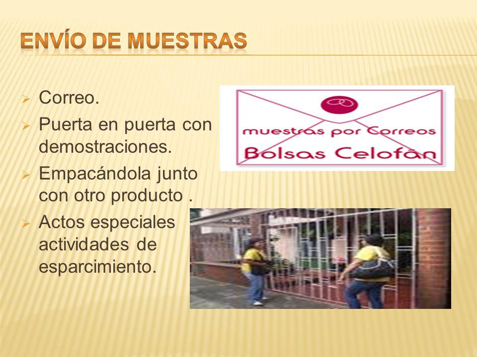Promocion de ventas y ventas personales ppt video online for Correo puerta a puerta