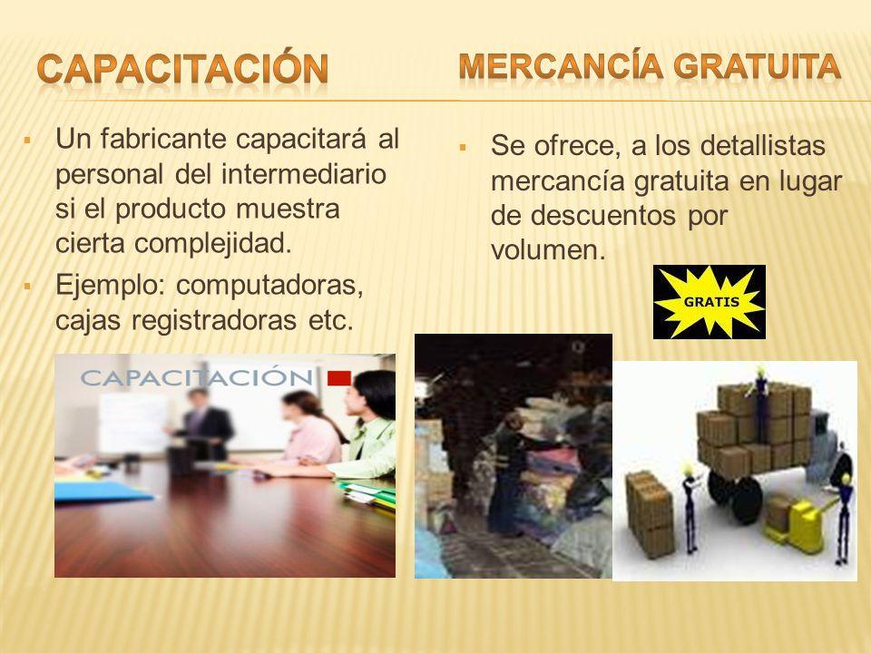 CAPACITACIÓN MERCANCÍA GRATUITA