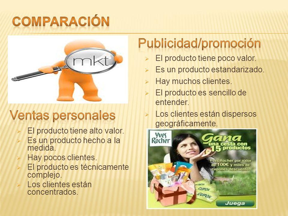 Publicidad/promoción