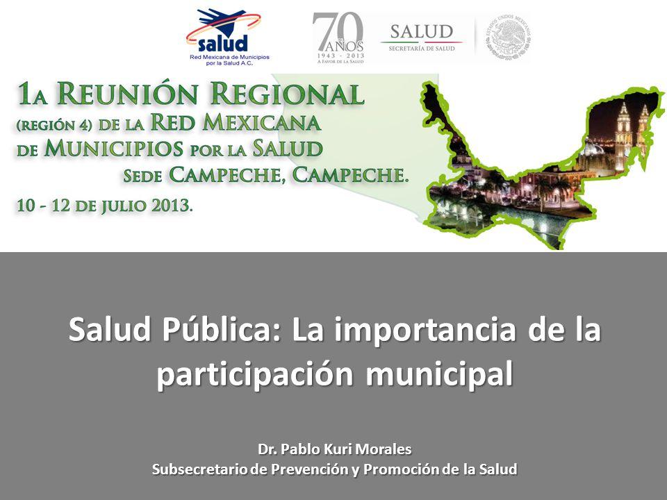 Salud Pública: La importancia de la participación municipal