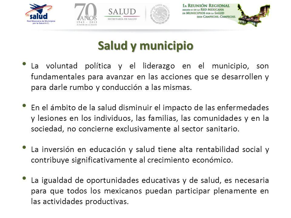Salud y municipio