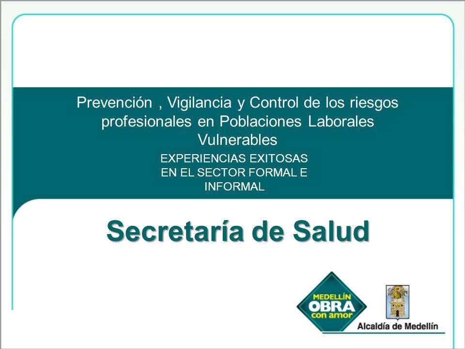 EXPERIENCIAS EXITOSAS EN EL SECTOR FORMAL E INFORMAL