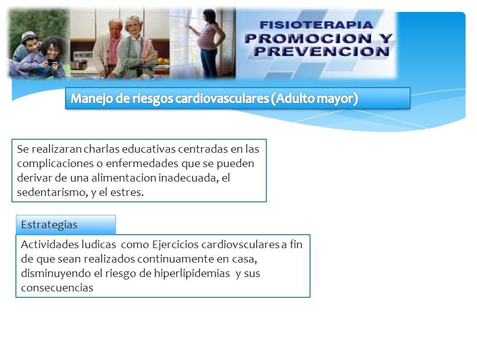 Manejo de riesgos cardiovasculares (Adulto mayor)