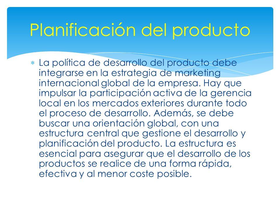 Planificación del producto
