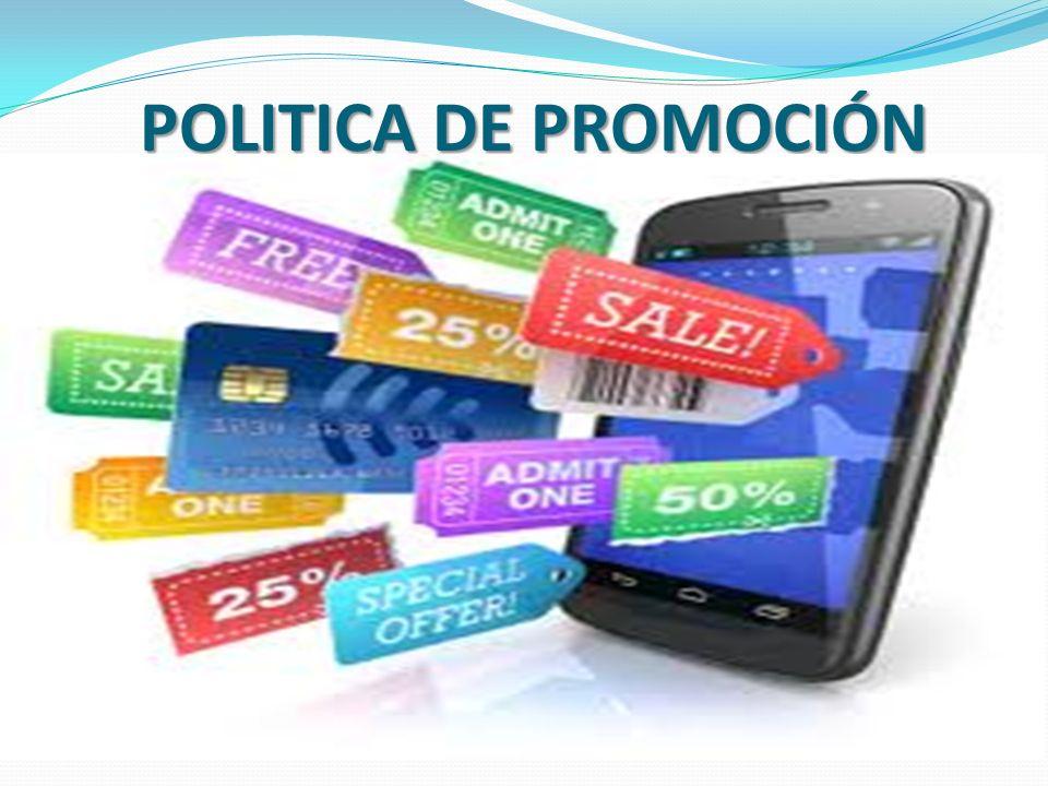 POLITICA DE PROMOCIÓN